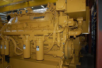 CAT 3412 DI-TA Caterpillar भारत में समुद्री इंजन