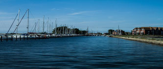 Yachthafen auf der Insel Fehmarn im Urlaub besuchen