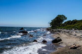 Strand und Küste auf Fehmarn im Urlaub sehen