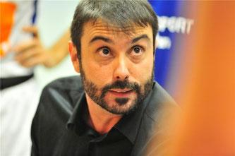 """""""Itu ist ein charismatischer Spieler. Die Mannschaft braucht ihn zurück."""" Joan Rallo Fernández, Head Coach 1. Herren"""