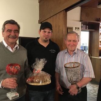 Bürgermeister Josef Kern, Alexander Wasl und Benedikt Ertl