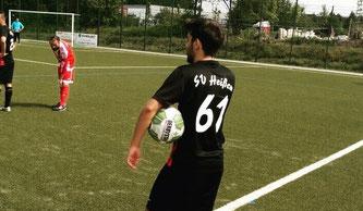 Abdul Agirman gab heute sein Pflichtspieldebüt in der neuen Saison. Der Außenverteidiger durfte sofort über 90 Minuten ran und zeigte wie sein gesamtes Team eine einwandfreie Leistung