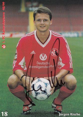 Autogrammkarte der Saison 1998/99 (Foto: Archiv Thomas Butz)
