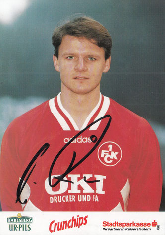 Autogrammkarte der Saison 1995/96 (Foto: Archiv Thomas Butz)
