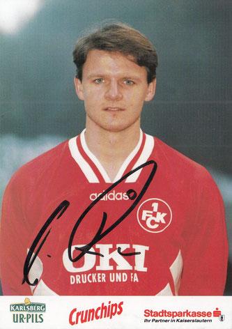 Autogrammkarte Saison 1996/96 (Foto: Archiv Thomas Butz)