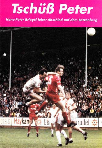 Hans-Peter Briegels Abschiedsspiel am 26.09.1989 (Foto: Archiv Eric Lindon)