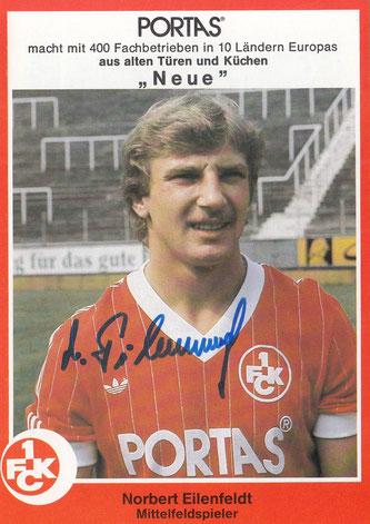 Saison 1981/82 (Foto; Archiv Thomas Butz)