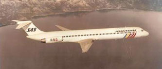 MD-80-Modell/McDonnell Douglas