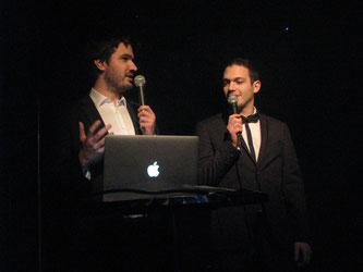 Matthias Bouffay et Lucas Roullet Marchand d'A Thou Bout d'Chant