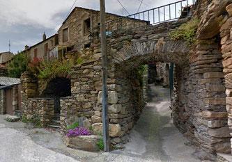 L'entrée de la ruelle (google maps)