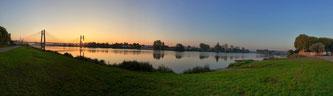 coucher de soleil à chalon sur saone