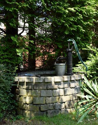 Bewässerung mit Brunnen