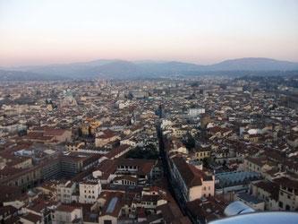 Смотровая площадка во Флоренции фото