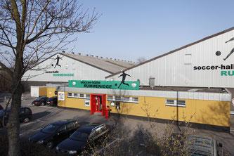 Die Soccer-Halle Rummenigge in Münster