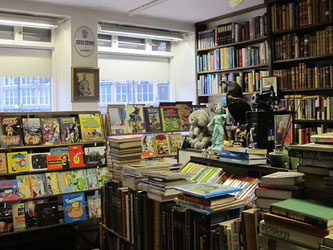 Comics and graphic novels at Kampintorin Antikvariaatti