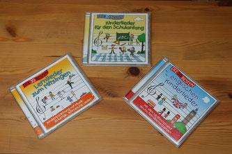 CDs mit Lieder zum Schulanfang & Lernern