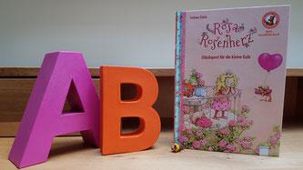 """Das Buch """"Rosa Rosenherz"""" aus der Bücherbär-Reihe des Arena-Verlags"""