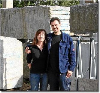 Lars Pursche und seine Frau Marina Steiner