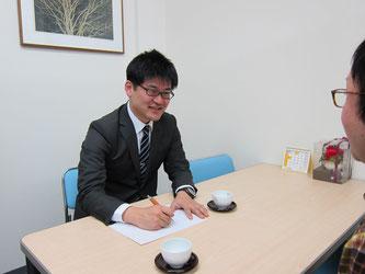 名古屋の合同会社の登記の相談風景