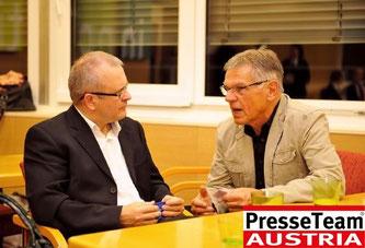 """Im Erstgespräch mit meinem Mentee (Foto """"www.paparazzi1.net, Klaus-Ingomar Kropf)"""
