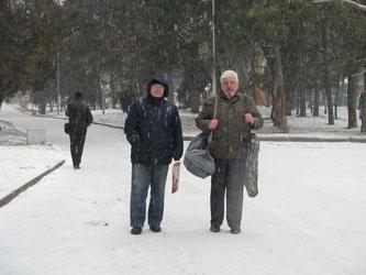 Юрий UW5EKM и Владимир UR0ET