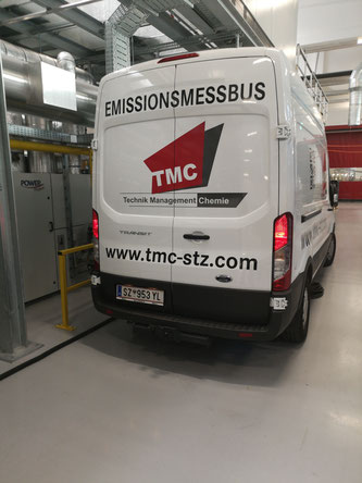 Emissionsmessbus TMC