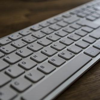 Tastatur Holztisch