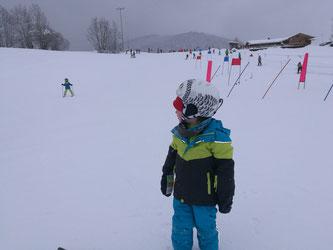 Das tapfere Ski-Kind