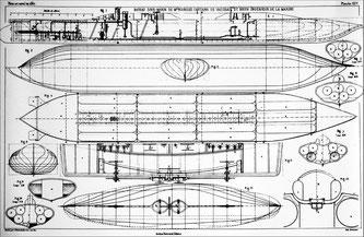 Plan du Plongeur, Art naval, Exposition universelle de 1867