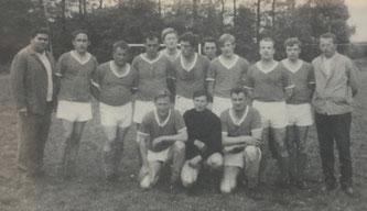 Die 1. Mannschaft im Jahre 1969