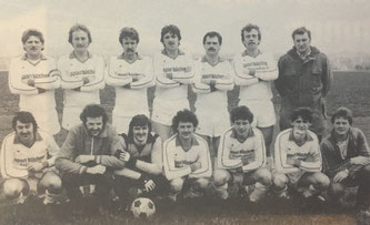 Die 1. Mannschaft in der Saison 1978/79