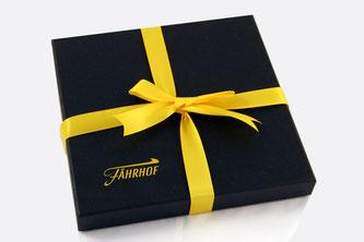 Caja pañuelo con lazo personalizado