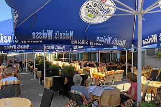 Gartenrestaurant und Biergarten, Delphi Weil am Rhein