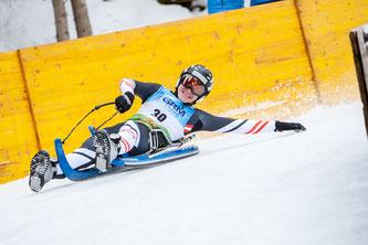 Am Bild Dominik Maier beim Junioren-Weltcup in Action (Foto: Chris Walch)