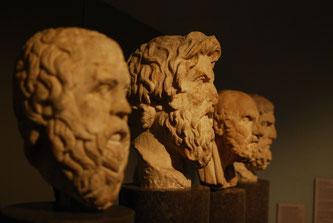 Büsten griechischer Philosophen