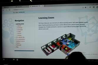 Skizze des Future Classroom Lab
