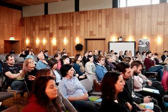 Auditorium der Veranstaltung