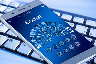 Smartphone und Social Media