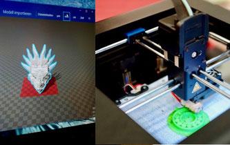 Vom Design zum 3D-Druck