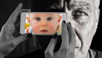 Das Abbild des Smartphones