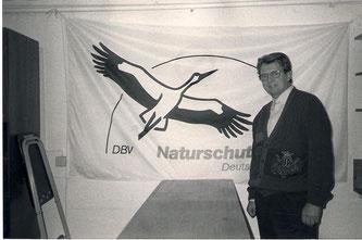 Egbert Schulz bei der Gründung des NABU Rinteln im Jahr 1979. - Foto: Archiv