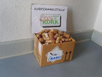 Beim NABU können Sie Ihre Korken abgeben. - Foto: Kathy Büscher
