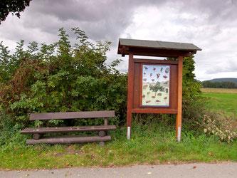 Eine vom NABU Rinteln aufgestellte Info-Tafel. - Foto: Kathy Büscher