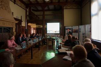 Vorstellung des Konzeptes im Rathaus der Stadt Rinteln. - Foto: Kathy Büscher