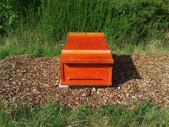 Die Bienenkiste wartet auf Bienen. - Foto: Kathy Büscher