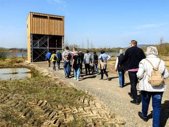 Neue Pilgerstätte für Naturbegeisterte. - Foto: Kathy Büscher