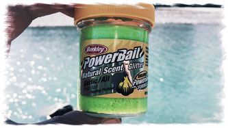 Power Bait Berkley Knoblauch Garlic Scent fishing-crew