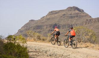 Die Trainingsrouten führen durch abwechslungsreiche Landschaften ©Gran Canaria, Tri, Bike & Run