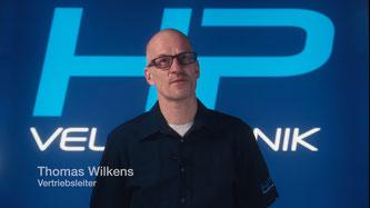 Vertriebsleiter Thomas Wilkens begrüßt die Teilnehmer. ©HP Velotechnik
