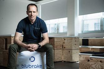 Fabio Todeschini, Gründer und Geschäftsführer von Blubrake